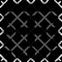Top Border Grid Icon