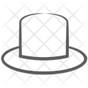 Top Cap Top Hat Headpiece Icon