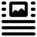 Top Center Image Icon