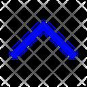 Top Chevron Top Arrow Arrow Icon