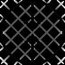 Top Down Arrow Icon