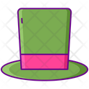 Top Hat Hat Magician Icon