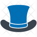 Top Hat Respect Credibility Icon