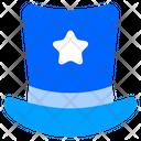 Top Hat Hat Magic Hat Icon