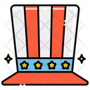 Top Hat American Hat Magician Hat Icon