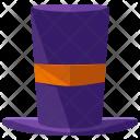 Top Hat Cap Icon