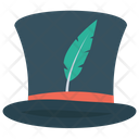 Top Hat Magician Hat Magic Show Icon