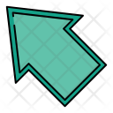 Top Left Arrow Icon