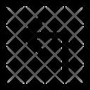 Top Left Left Arrow Icon