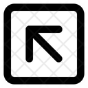 Top Left Arrow Arrow Direction Icon