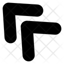 Top Left Arrow Top Left Icon