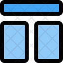 Top Order Layout Icon