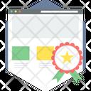 Top Page Web Icon