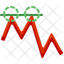 Resistance Chart Trade Icon