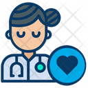 Lady Doctor Woman Doctor Icon