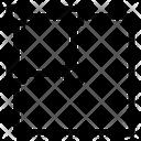 Top Right Align Icon