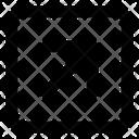 Top Right Arrow Arrow Direction Icon