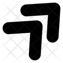 Top Right Arrow Top Right Icon