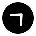 Top Right Arrow Top Right Diagonal Icon