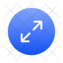 Top Right Expanding Icon