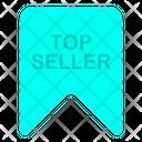 Top Seller Award Badge Icon