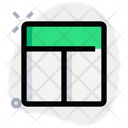 Top Sidebar Layout Icon