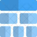 Top Sitemap Grid Icon