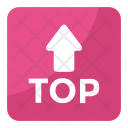 Top Upward Arrow Icon