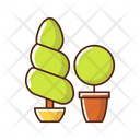 Topiaries And Evergreens Icon