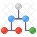 Nodes Network Connected Nodes Mesh Network Icon