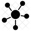Nodes Networking Connections Icon