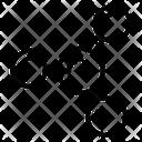 Nodes Topology Mesh Network Icon