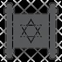Jewish Torah Israel Icon