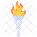 Torch Olympics Flame Icon
