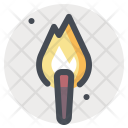 Torch Light Flame Icon