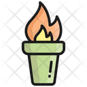 Torch Light Flashlight Icon