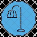 Lamp Interior Torchere Icon