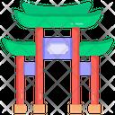 Japan Gate Torii Gate Shrinto Shrine Icon
