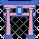 Torii Gate Japanese Gate Japan Landmark Icon