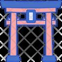 Torii Gate Japan Gate Icon