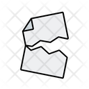 Torn Document Icon