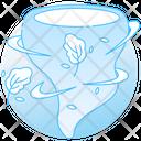 Tornado Hurricane Cyclone Icon