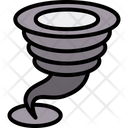 Tornado Weather Twister Icon
