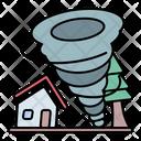 Tornado Hurricane Windstorm Icon