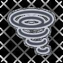 Tornado Hurricane Storm Icon