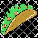 Burrito Pita Sandwich Tortilla Icon