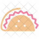 Tortilla Mexican Fast Food Icon