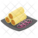 Tortilla Rolls Icon