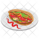 Tortilla Sandwich Icon