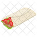 Tortilla Wrap Icon